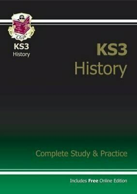 KS3 History Complete Study and Practice by CGP Books 9781841463919 | Brand New