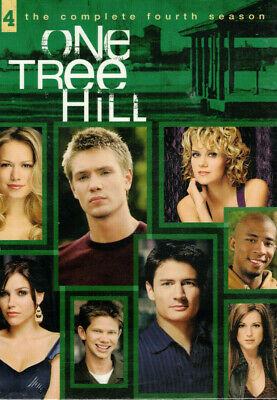 One Tree Hill The Complete Fourth Season DVD 6-Disc Set NEW Sealed