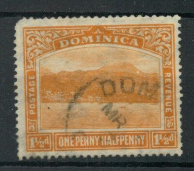 Dominica 1921 1½d orange SG64 used *COMBINED SHIPPING*