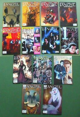 Job Lot 13 Assorted IDW Angel Comics After The Fall - Not Fade Away &c Whedon