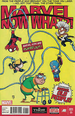 Marvel Now What #1 Skottie Young Baby Cover A 2013 Avengers Spider-Man X-Men