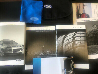 Fiesta 11 2011 Ford Owner's Owners Manual Set with Case OEM Parts ...