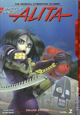 Battle Angel Alita HC (Kodansha) Deluxe Edition 2-REP 2018 NM Stock Image