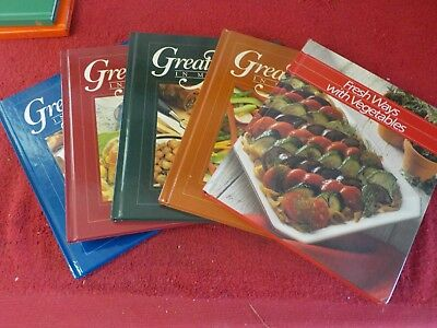 5 Time-Life Great Meals in Minutes Books  (SH)