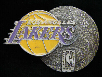 Oe29128 Vintage 1994 **Los Angeles Lakers** Nba Basketball Sports Belt Buckle