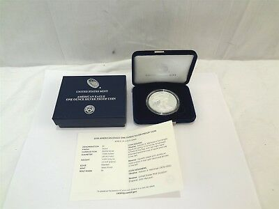 2018W United States Mint American Silver Eagle Dollar 1 oz. .999 Fine Proof Coin