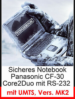 Panasonic Cf30 Cf-30 Mk2 Protection Impact Resistant Notebook Wi-Fi Touch Screen