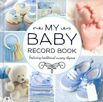 My Baby Record Book  Blue '