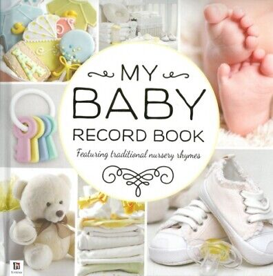 My Baby Record Book  Yellow '