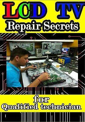 LED/LCD TV Repair Secrets [only PDF][Fast delivery]