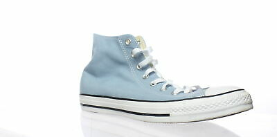 46ff8e4f4ef4 Converse Mens Chuck Taylor All Star Washed Denim Skateboarding Shoes Size 10