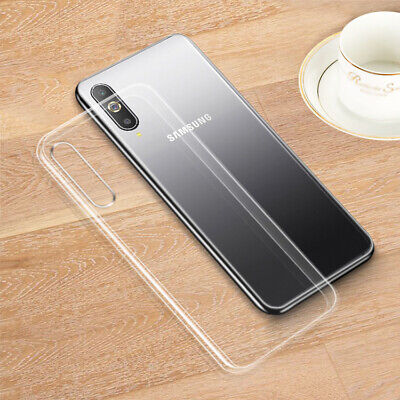 Crystal Clear TPU Silicone Cover Case Skin For Samsung Galaxy A50 A70 A30  A40