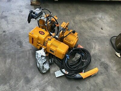 Kito Er Series Electric Chain Hoist Mr2-010S + Geared Trolley Er2-003S