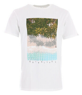 Shirt Tshirt Oberteil QUIKSILVER PERTH OR BUST T-Shirt 2019 white Tshirt Tops