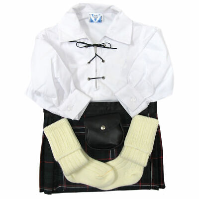 Kit bambini - Camicia, kilt, sporran, calze - Scottish National