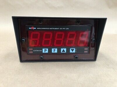 Amalgamated Instrument Co RS485 LD-485 Large Digit Display 45mm 5 Digit #IFB