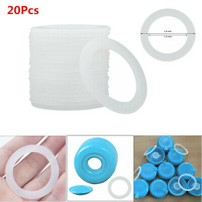 20Pcs Silicone Sealing O-Rings Gasket for Bottled Water Bucket Pail Lid Cover