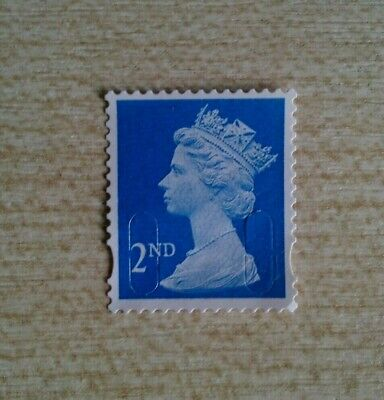 100 2Nd Class Unfranked Stamps No Gum Off Paper Excellent Condition