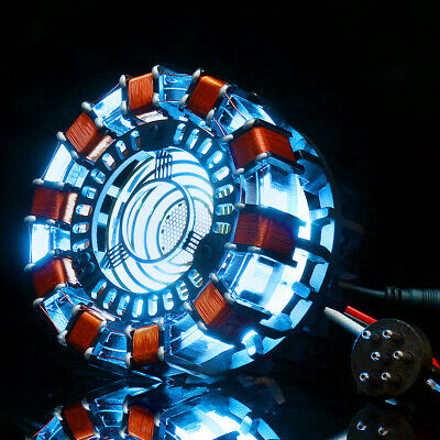 Arc Reactor MK1 Model DIY LED Chest Light USB Powered Movie Props End Games