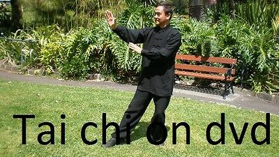 Tai Chi simple beginners training guide, easy learn the art of tai chi on dvd