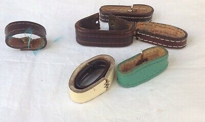 Leather Belt Keepers American Western Vintage