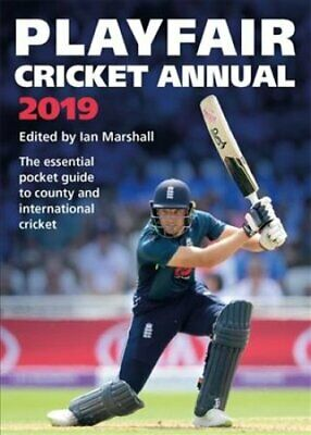 Playfair Cricket Annual 2019 by Ian Marshall 9781472249814 | Brand New