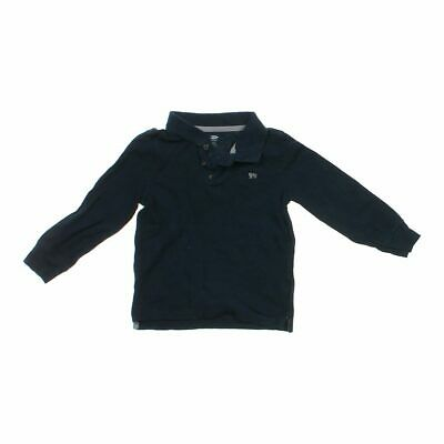 Old Navy Boys Long Sleeve Polo Shirt, size 4/4T,  black,  cotton