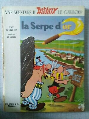 Astérix - La serpe d'or - DL 1963