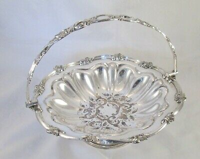 A Fine Engraved Old Sheffield Plate Bread Basket / Bowl c1820