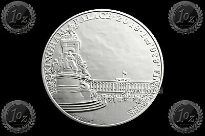 UK / GREAT BRITAIN 2 POUNDS 2019 (BUCKINGHAM PALACE) 1oz SILVER coin (Ag999) UNC