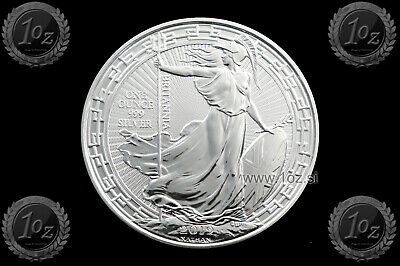 UK / GREAT BRITAIN / BRITANNIA 2 Pounds 2019 ( ORIENTAL BORDER ) 1oz SILVER Coin