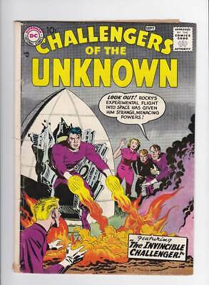 Challengers of the Unknown # 3  Invincible Challenger !  grade 3.0 scarce book !