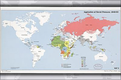 1998 Many Sizes; Cia Map Of Former Soviet Union Republics Poster