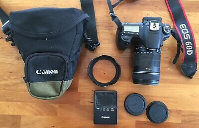 Canon EOS 60D 18.0MP Digital SLR Camera - Black (Kit w/ EF-S IS 18-135mm Lens)