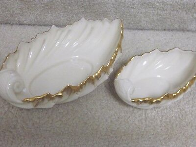 Vintage Lenox dishes-matching pair,large and small,excellent condition