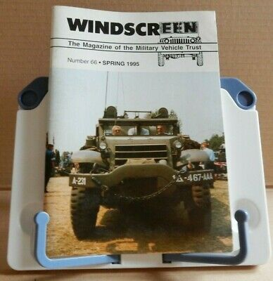 Windscreen - The Magazine of the Military Vehicle Trust; various issues for sale