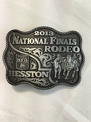 National Finals Rodeo Hesston 2013 NFR Youth Buckle New Wrangler AGCO