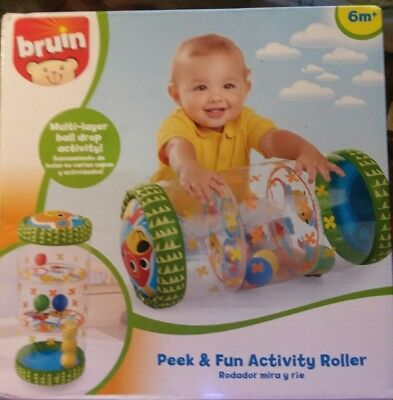 Babies R Us Peek & Fun Activity Roller New in Package