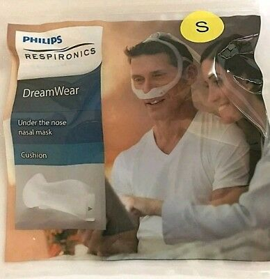 NEW-Philips Respironics Dream Wear CPAP Under the Nose Nasal Mask Cushion, Small