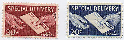US Scott #E20 & E21 Special Delivery  SET of 2 MNH***FREE SHIP***