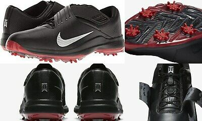 newest 9af5a ff981 Nike NEW  200 Tiger Woods Air Zoom TW 17 Golf Cleats Spikes 880955 black  size 10