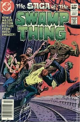 Swamp Thing (2nd Series) #3 1982 VF Stock Image