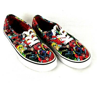 fbffe99d47 VANS MARVEL COMICS Superhero Shoes Sneakers Kids 3.5 -  25.00