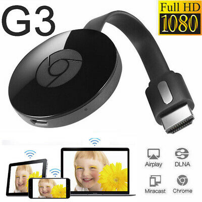 3rd Generation 3 Digital HDMI 1080P Media Video Streamer For Chromecast
