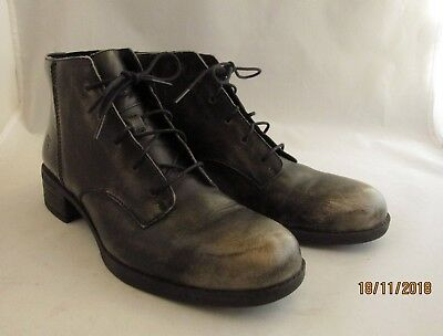 bba85a5589a TIMBERLAND BECKWITH CHUKKA Lace Up Leather Ankle Boots Burnished Pewter Sz  9.5