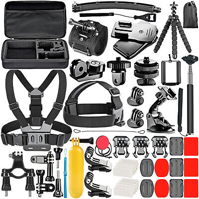Neewer 53-In-1 Sport Accessory Kit for GoPro Hero4 Session SJ4000 5000 6000 7000