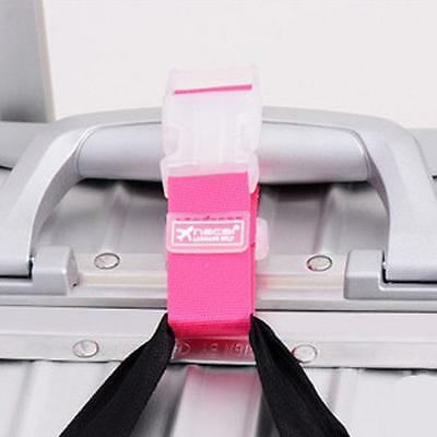 Luggage Hang Buckle Travel Suitcase Hanging Anti-lost Clip Adjustable Strap YO
