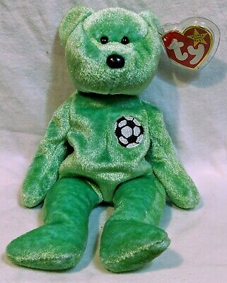 f638a4be163 TY BEANIE BABY VERY RARE KICKS BEAR Collectible with Tag Errors.1998