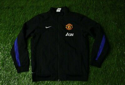 4a5aa90216f Manchester United 2013/2014 Football Track Top Jacket Training Nike Original
