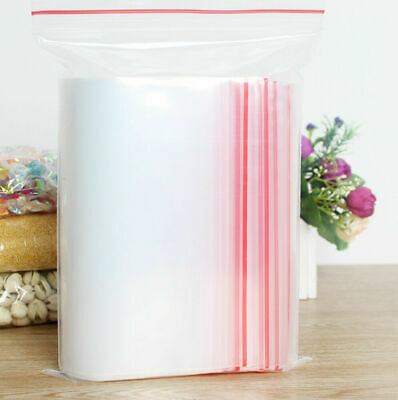 200x Small Zip Lock Plastic Bags Reclosable Resealable Zipper New 4cmX6cm
